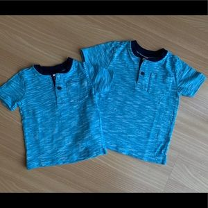 Gymboree Brother Match Dressy Tees